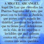 Oracion san miguel arcangel 10