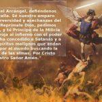 Oracion san miguel arcangel 13