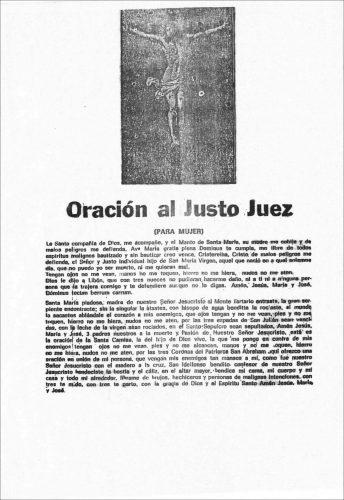 Oraciones Mujeres Justo Juez