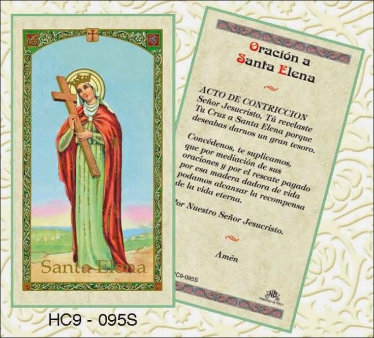 Oración a Santa Elena para desesperar Oraciona