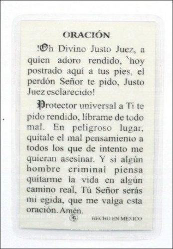 Oración de Protección Justo Juez