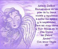 Oración al Arcángel Zadquiel