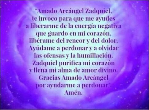 Oracin Al Arcngel Zadquiel Oraciona
