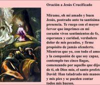 Oración a Jesús Crucificado