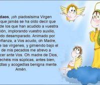 Oración a la Virgen María para niños