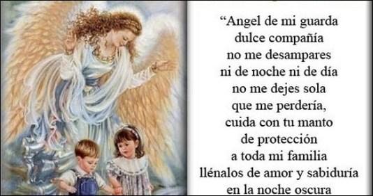 Oración Al ángel De La Guarda Para Protección Oraciona