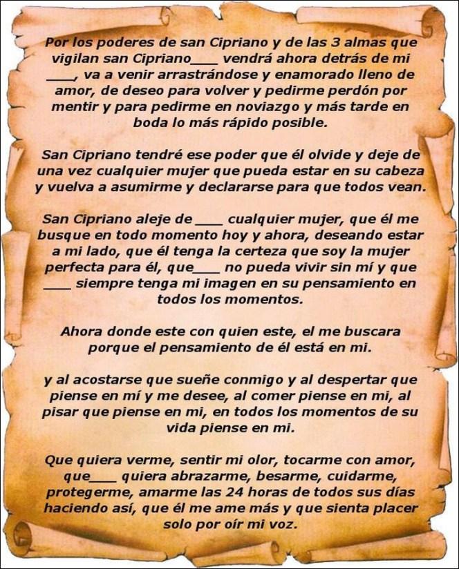 Oración a san Cipriano para protección Oraciona