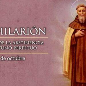 Oración a San Hilaron para abundancia, fortuna, suerte