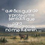 oracion que dios me proteja