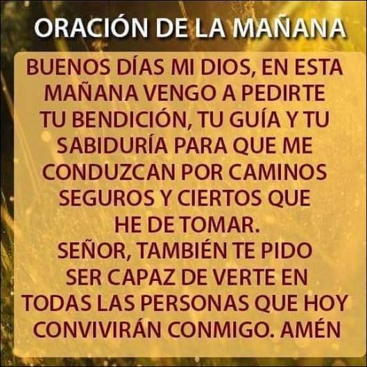Oraciones De La Mañana Para Dar Gracias A Dios Oraciona